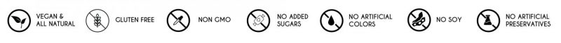 Sasya All Natural Gluten Free Vegan No Sugars Colors Preservatives
