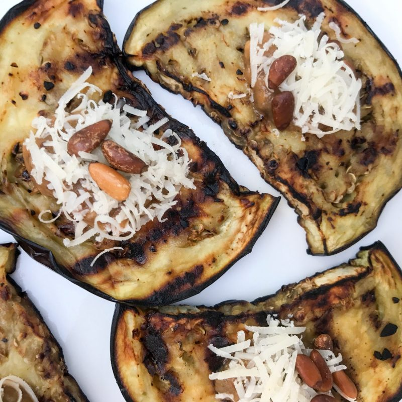 double-eggplant-grilled-appetizer